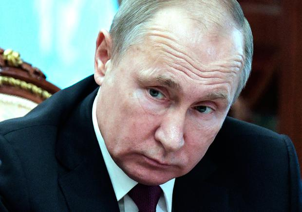 Weapons programme: Russian President Vladimir Putin. Photo: AP