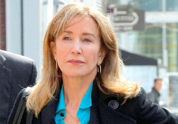Charged: 'Desperate Housewives' star Felicity Huffman has been charged with making a $15,000 payment to have her daughter's SAT secretly corrected. Photo: Reuters