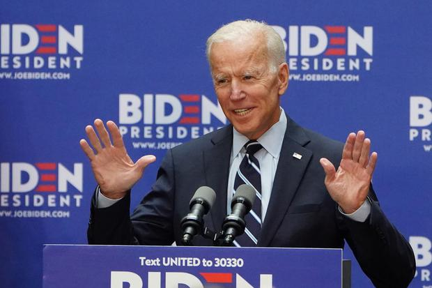 Joe Biden vowed to return to the Paris climate accord. Photo: Reuters
