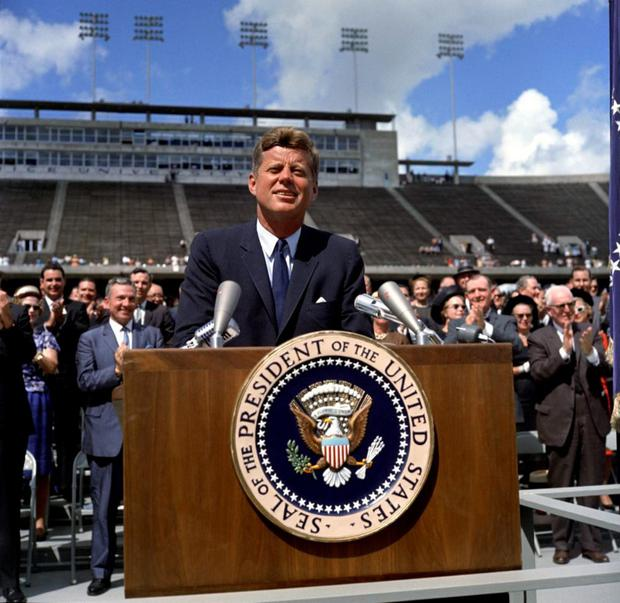 An office of enormous peril: John F Kennedy