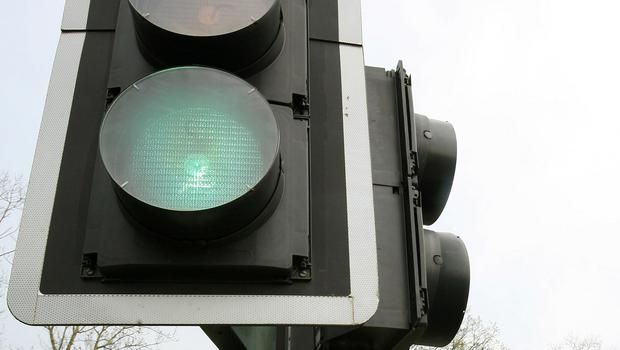 Gardai will now have to stop at traffic lights