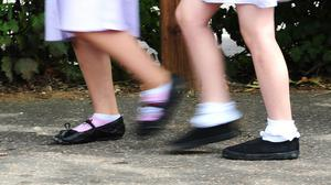 56 school pupils were sent home for breaking rules on footwear