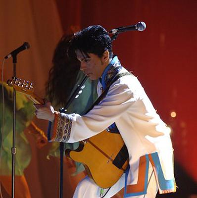 Prince played a secret gig in a London living room