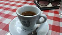 An Italian astronaut has sampled the first espresso to be made on the International Space Station
