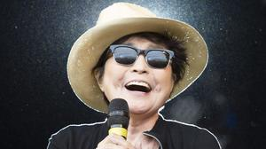 Yoko Ono has designed coffee cups inspired by tragedies including husband John Lennon's murder