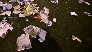 """US author and broadcaster David Sedaris said Britain had a """"cultural"""" problem with throwing rubbish on the streets"""