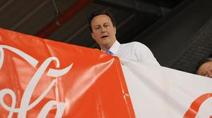 David Cameron will try to get his family to give up sugar for 24 hours