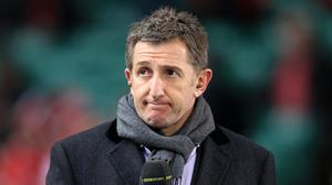 Former Welsh player and BBC commentator Jonathan Davies