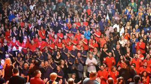 The health benefits of choral singing have been highlighted