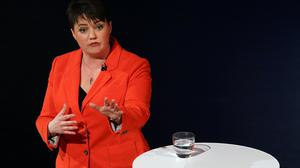 Ruth Davidson has said she will don her Superman underwear to support a charitable cause