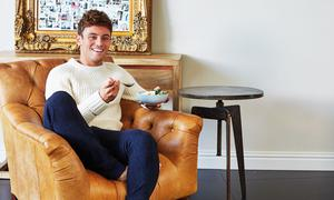 Undated Handout of Tom Daley, taken from Tom's Daily Plan by Tom Daley, published by HQ, HarperCollins. See PA Feature FOOD Daley. Picture credit should read: PA Photo/HQ/Dan Jones. WARNING: This picture must only be used to accompany PA Feature FOOD Daley