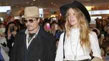 Johnny Depp and Amber Heard were given 72-hour notice to send their two dogs back to the US (AP)