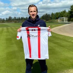 England captain Harry Kane has bought the sponsorship rights to Leyton Orient's three 2020/21 kits (Leyton Orient FC handout/PA)