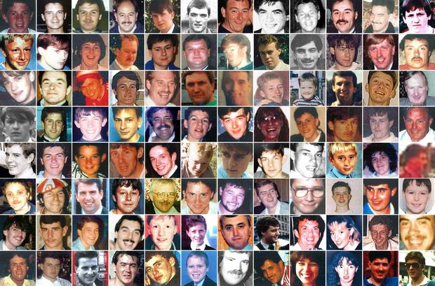 The full list of the victims of the Hillsborough disaster (Hillsborough Inquests/PA)