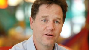 Deputy Prime Minister Nick Clegg said he likes eating in Pret a Manger