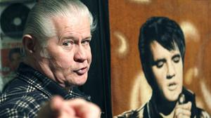 Late Elvis fanatic Paul MacLeod's Graceland Too home-turned museum and its collection of memorabilia are going under the hammer (AP)