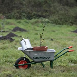 A wheelbarrow was one item bequeathed in a will.