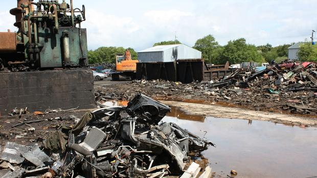 The 15-acre scrapyard is to be restored to the wildlife-rich peat bog it was built on (Shropshire Wildlife Trust/PA)
