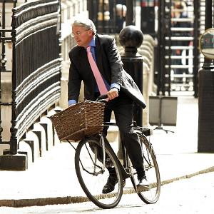 Andrew Mitchell's bicycle fetched more than 10,000 pounds on eBay