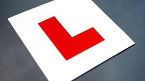 A man who failed the driver theory test four times has been jailed after he forged a learner permit licence