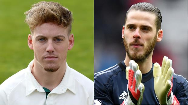 Tom Moores (l) was praised by David De Gea (Tim Goode/PA and Anthony Devlin/PA)