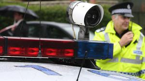PCSOs sounded the siren to test what noise they make
