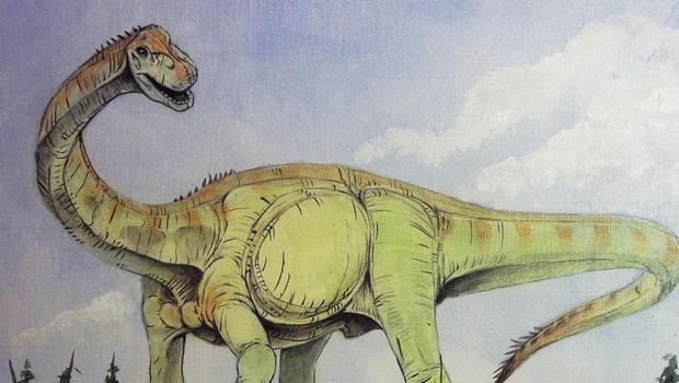 Experts say they have identified Britain's oldest sauropod dinosaur (Jason Poole/University of Manchester)