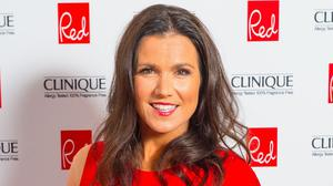 "Susanna Reid was left red-faced after a ""wardrobe malfunction"""