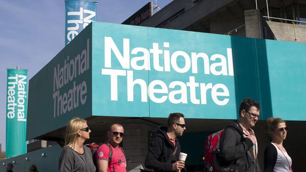 The National Theatre on the South Bank of the Thames