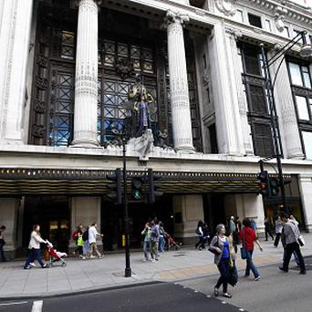Selfridges said sales of men's underwear, sleepwear and socks had encouraged it to open a larger bodywear department
