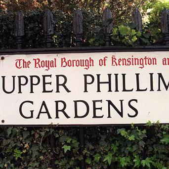 The most expensive street beginning with the letter U is Upper Phillimore Gardens in Kensington