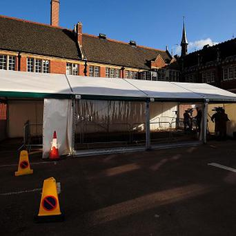 A general view of Greyfriars car park in Leicester, where the skeleton of King Richard III was found