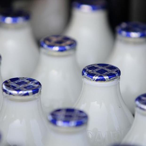 A milk tanker crash has caused road chaos