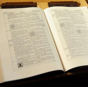Phillip Patterson began copying the complete King James Bible in 2009