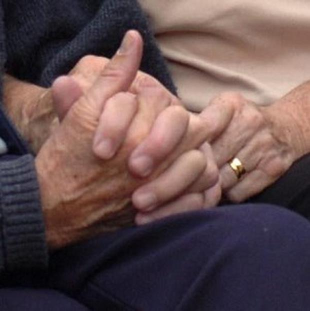 One in 10 elderly people have been at risk of poverty, official figures reveal