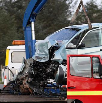 Scottish drivers seem the most likely to hit lamp posts, according to accident figures