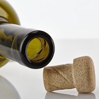 The Helix cork and accompanying bottle that have a thread finish to allow drinkers to twist the stopper open and closed again