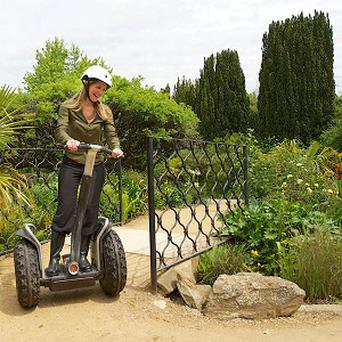 Visitors will be able to tour Bristol Zoo after hours on Segways from next month (Bristol Zoo/PA)