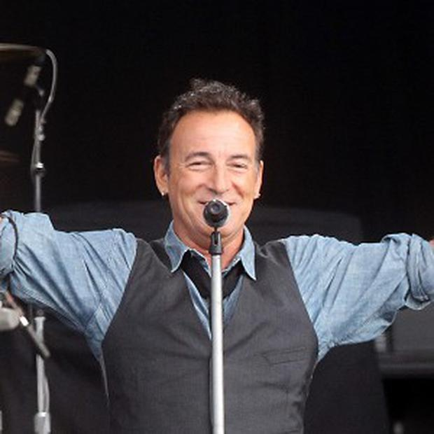 Bruce Springsteen played at the Leeds Arena