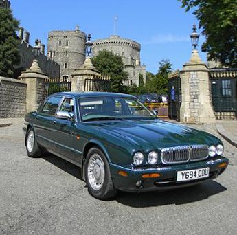 A Daimler Super V8 LWB limousine owned and driven by the Queen from 2001 to 2004 which is to come up for auction (Historics at Brooklands/PA)