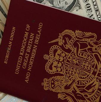 Britons are forking out for emergency travel documents after their passports met with various misfortunes