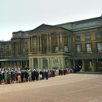 Buckingham Palace is to host its first official soccer match as part of the Football Association's 150th anniversary
