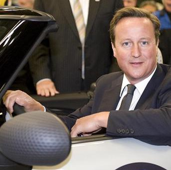 David Cameron says he hasn't driven on the roads for three years.