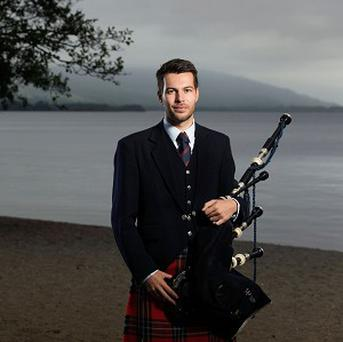 Kyle Warren took up playing seriously around a decade ago when he started lessons at the National Piping Centre in Glasgow