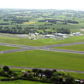 A pilot has walked away from a crash near Halfpenny Green airport, Wolverhampton