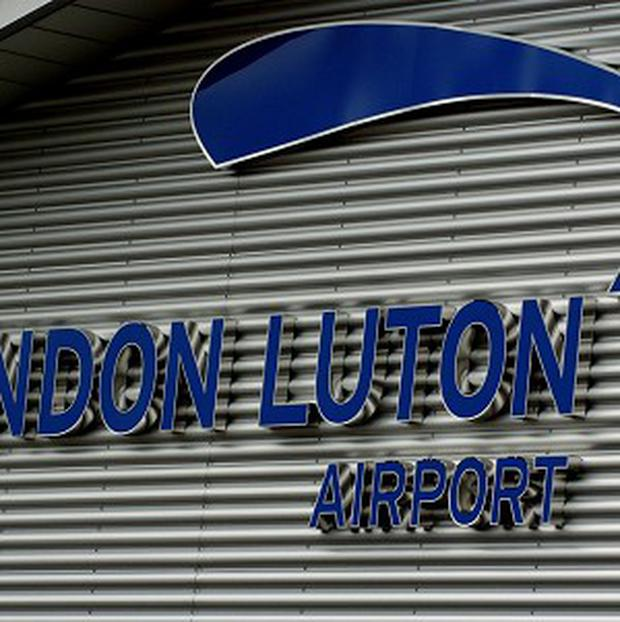 A snake travelled on a plane from Tel Aviv to London Luton Airport.