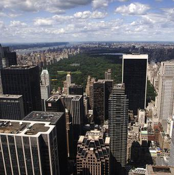 A 19-year-old student became trapped between two buildings in Manhattan