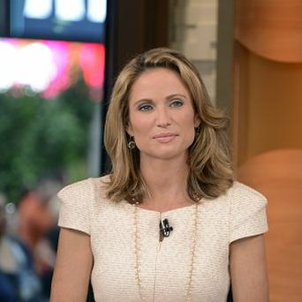 A month after undergoing a mammogram on Good Morning America, ABC's Amy Robach said she has breast cancer (AP/ABC, Ida Mae Astute)