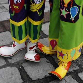 Norfolk Police have told the public to ignore people dressed as clowns after a series of sightings