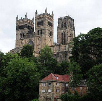 A mass grave has been found near Durham Cathedral.